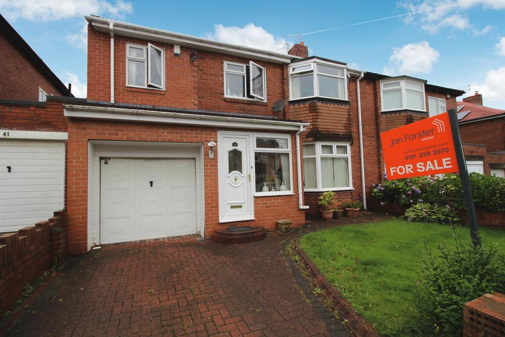 5 Bedrooms Semi Detached House for sale in Rectory Grove, Newcastle Upon Tyne