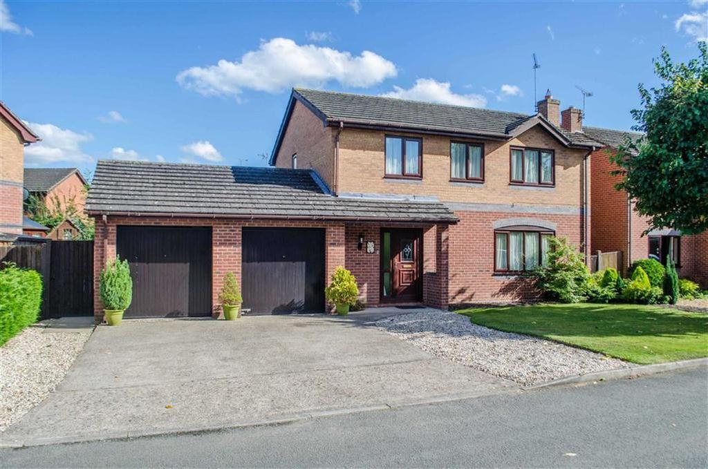 4 Bedrooms Detached House for sale in Greenfield View, Wrexham, Wrexham