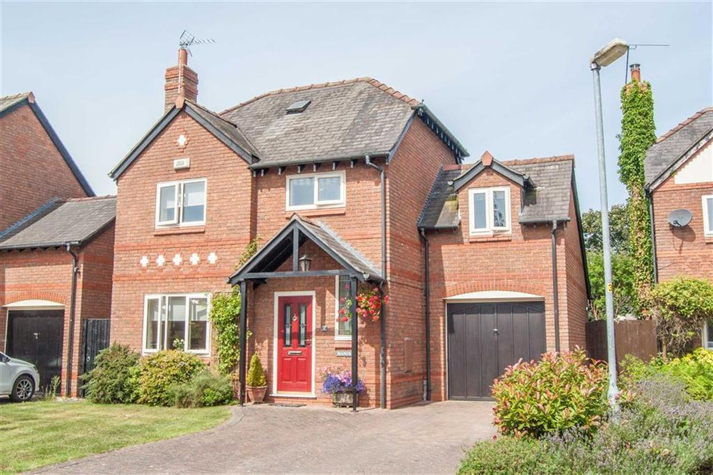 3 Bedrooms Detached House for sale in Castle Hill, Pulford, Chester, Pulford
