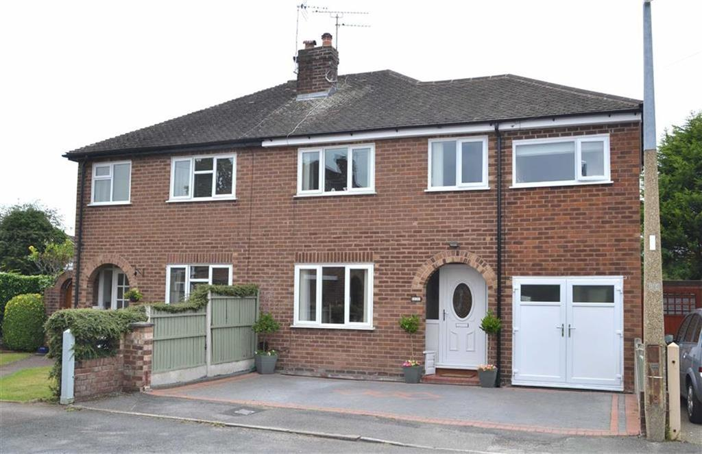 4 Bedrooms Semi Detached House for sale in Greenlea Close, Whitby, CH65