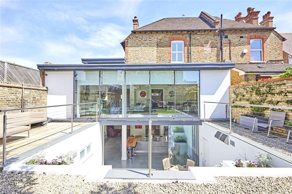 5 Bedrooms Semi Detached House for sale in Courthope Road, London, SW19