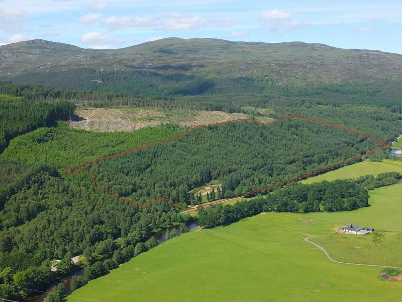 Land Commercial for sale in Comar Wood House Site, Cannich, Inverness-shire IV4