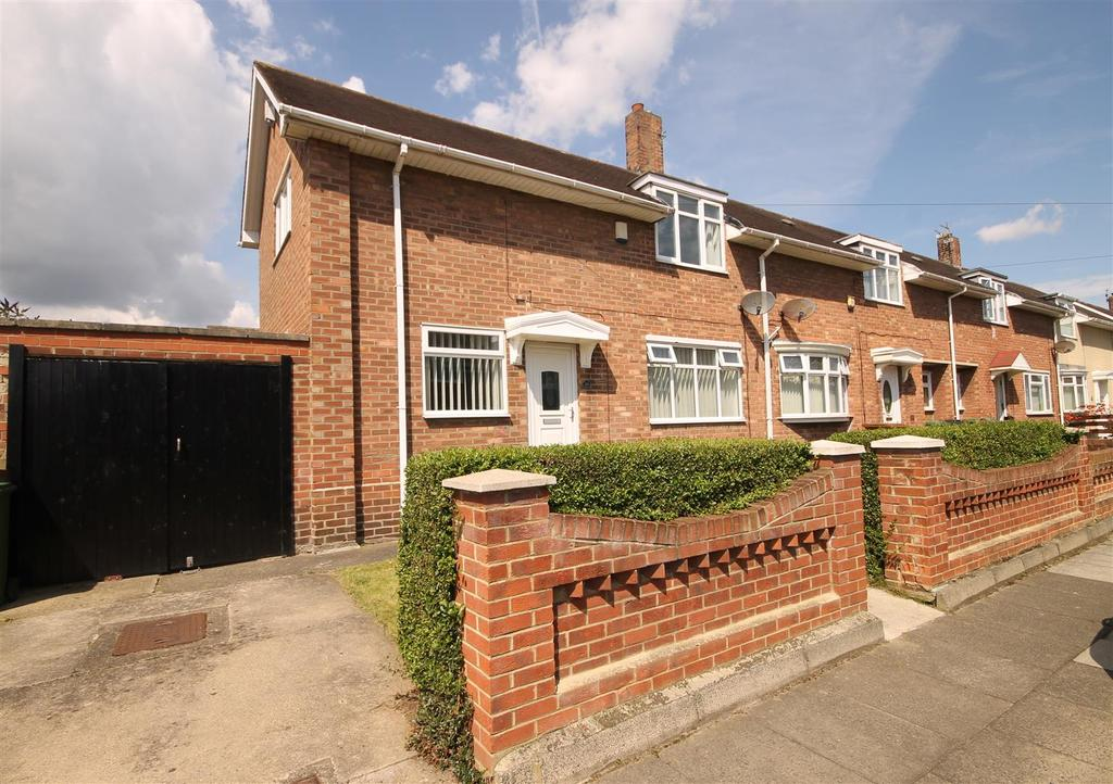2 Bedrooms End Of Terrace House for sale in Falkirk Road, Hartlepool