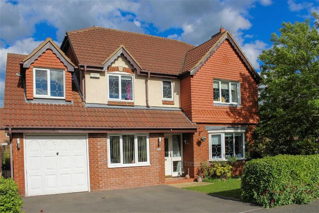 5 Bedrooms Detached House for sale in Honeysuckle Way, Loughborough, LE11