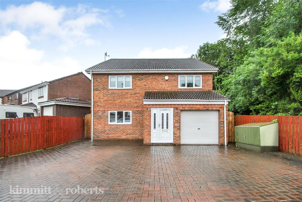 4 Bedrooms Detached House for sale in Hollowdene, Hetton le Hole, Tyne and Wear, DH5