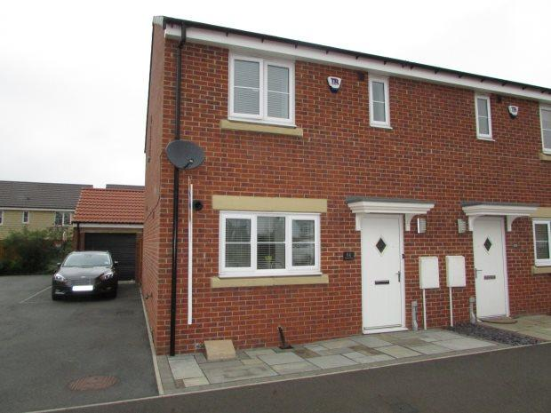 3 Bedrooms Semi Detached House for sale in WATSON PARK, SPENNYMOOR, SPENNYMOOR DISTRICT