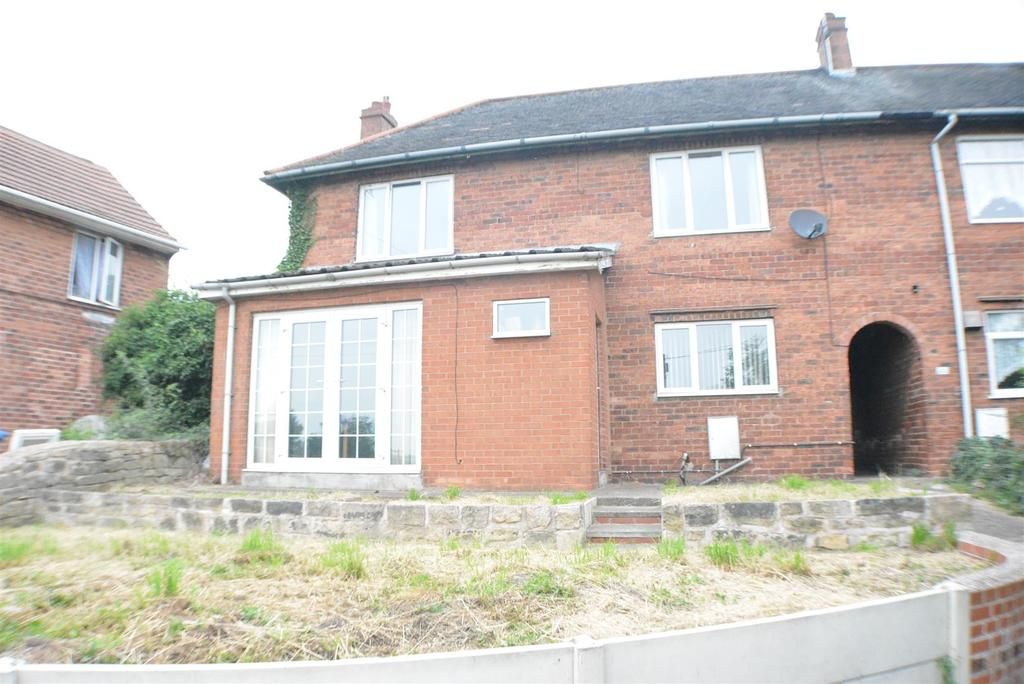 3 Bedrooms End Of Terrace House for sale in Grove Road, Church Warsop, Mansfield