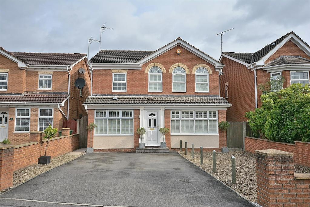 4 Bedrooms Detached House for sale in Washington Drive, Mansfield