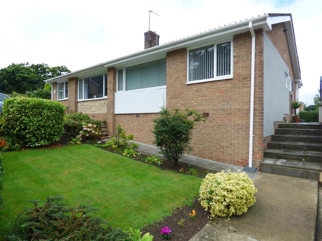 3 Bedrooms Semi Detached Bungalow for sale in West Drive, Lanchester, DH7