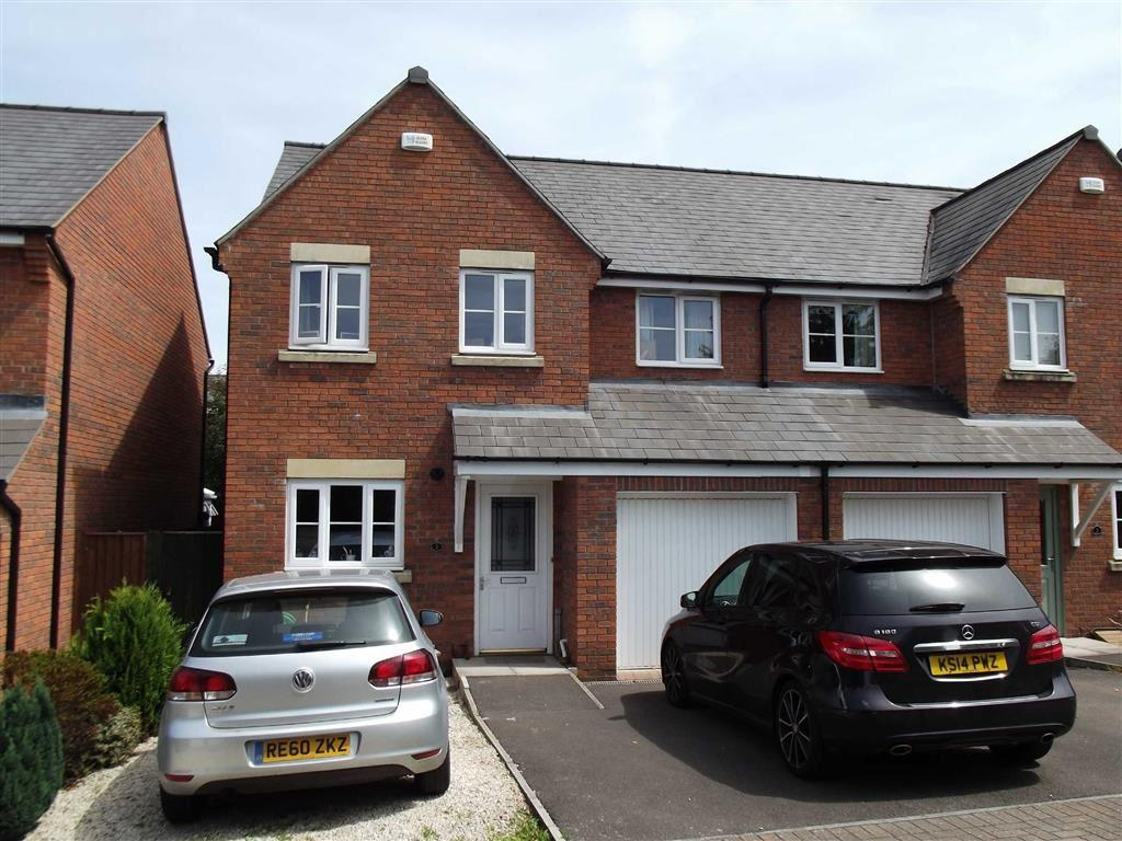 4 Bedrooms Semi Detached House for sale in Bells Place, Ross On Wye, Herefordshire