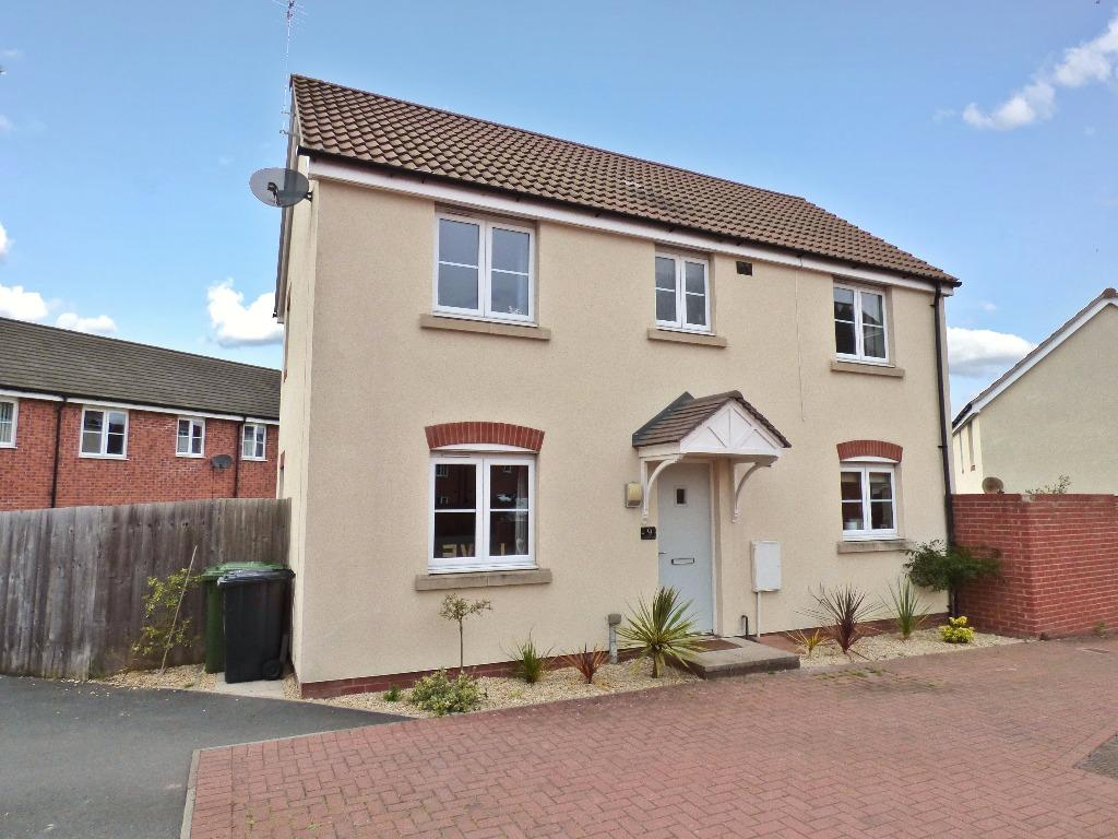 3 Bedrooms Detached House for sale in Saxon Gate, Hereford