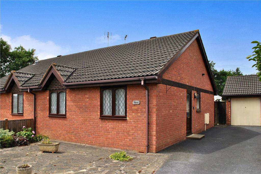 2 Bedrooms Semi Detached Bungalow for sale in Wansbeck Green, Taunton