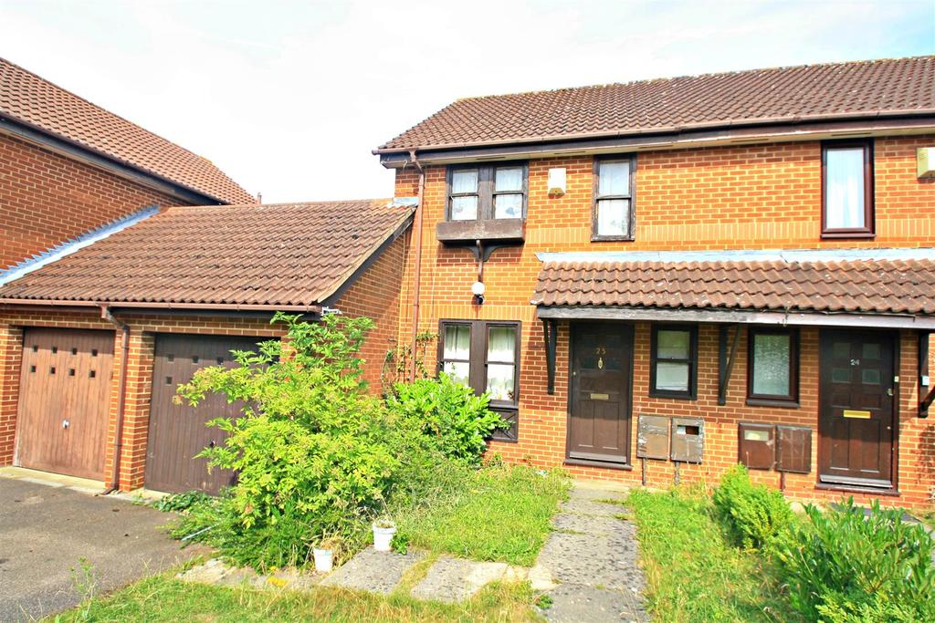 3 Bedrooms End Of Terrace House for sale in Boxberry Gardens, Walnut Tree, Milton Keynes