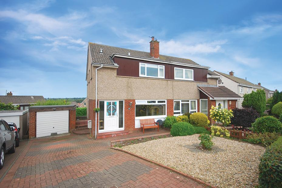 3 Bedrooms Semi-detached Villa House for sale in 27 Sycamore Crescent, Ayr, KA7 3NS