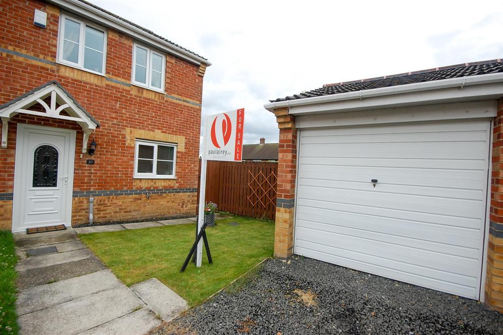 3 Bedrooms Semi Detached House for sale in Hainford Close, Havelock Park, Sunderland