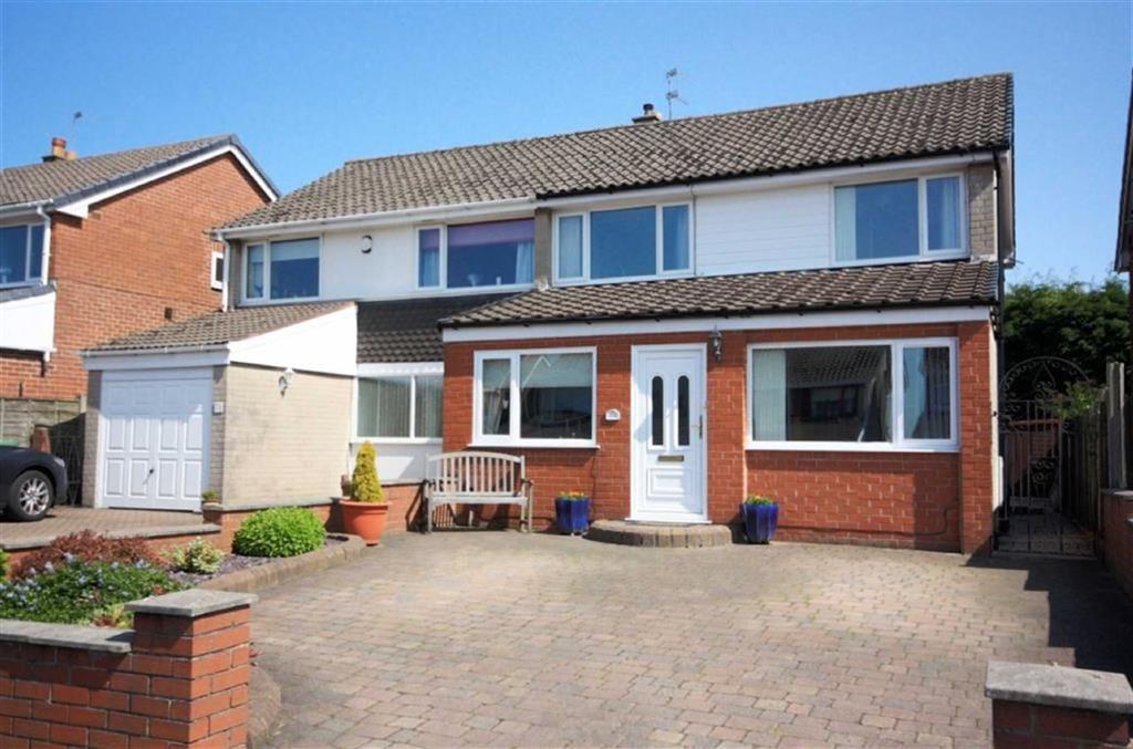 4 Bedrooms Semi Detached House for sale in Douglas Avenue, Billinge, Wigan, WN5