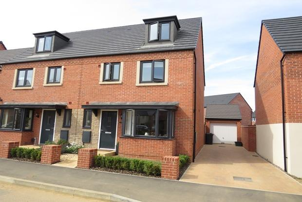 4 Bedrooms Semi Detached House for sale in Balmoral Close, Northampton, NN5