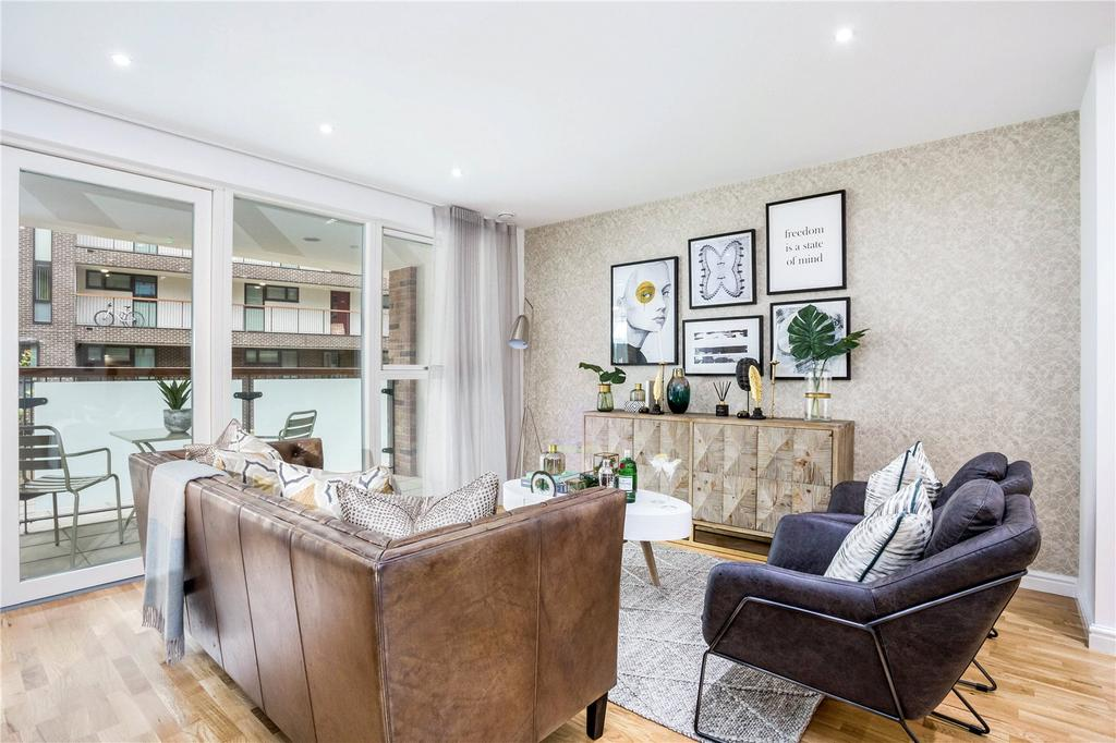 2 Bedrooms Flat for sale in Godfrey Place, Shoreditch, London, E2