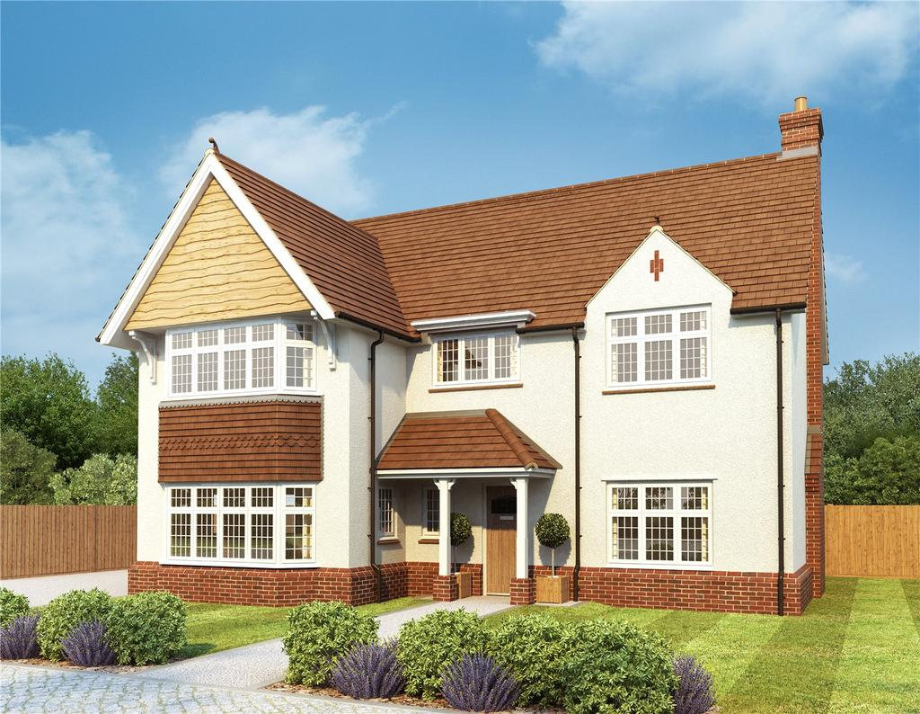 4 Bedrooms Detached House for sale in Oak View, Burcote Road, Towcester, Northamptonshire, NN12