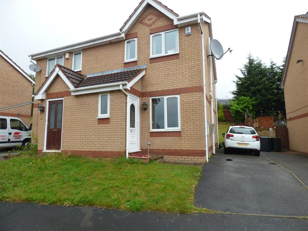 2 Bedrooms Semi Detached House for sale in Ploughmans Croft, Poplars Park, Bradford, BD2 1LE