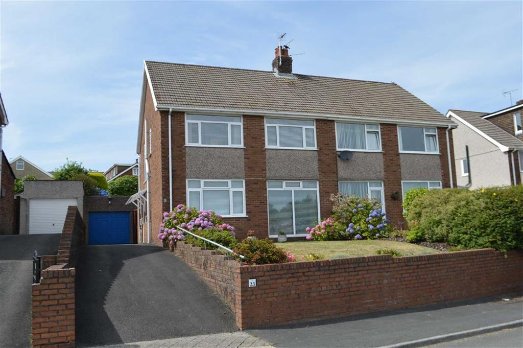 3 Bedrooms Semi Detached House for sale in Parklands View, Swansea, SA2