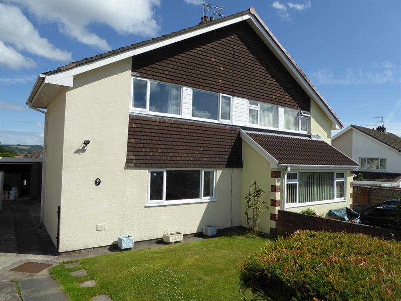 3 Bedrooms Semi Detached House for sale in Nursery Rise, Bedwas, Caerphilly
