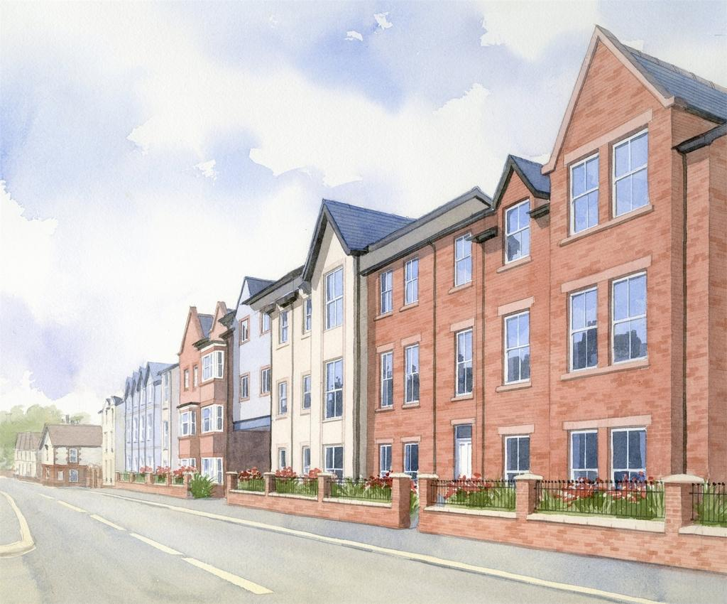 2 Bedrooms Flat for sale in Carriageworks, New Street, Mold, Flintshire