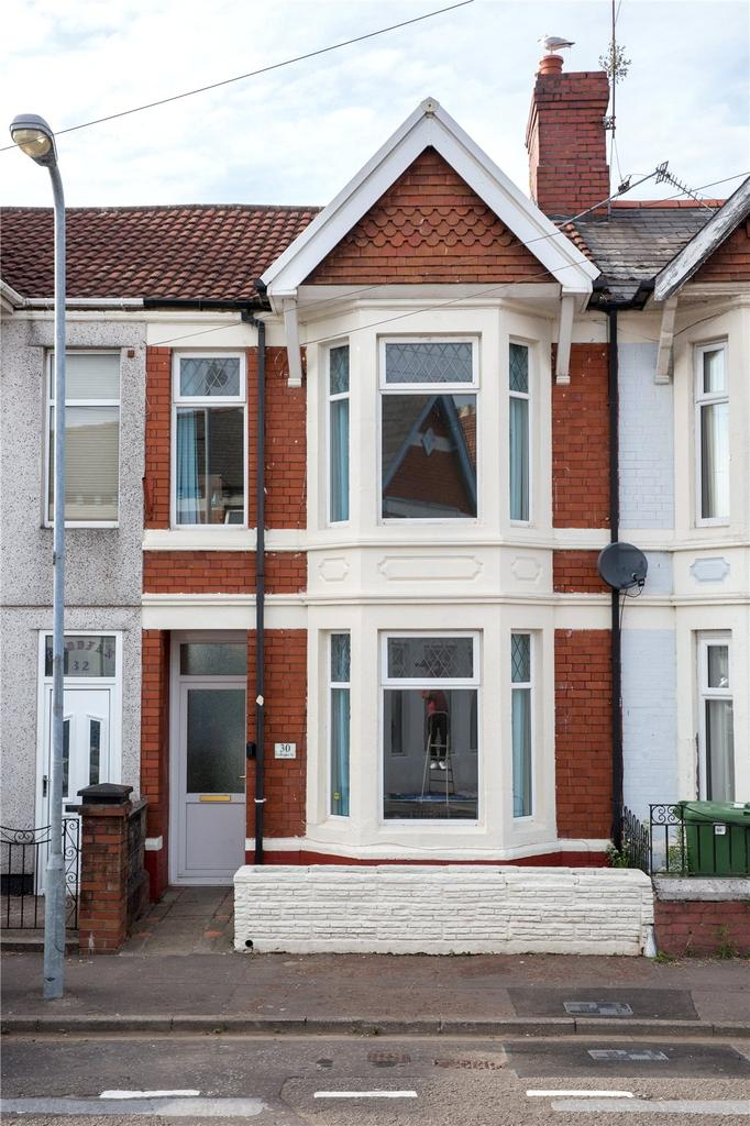5 Bedrooms Terraced House for sale in Gelligaer Street, Cathays, Cardiff, CF24