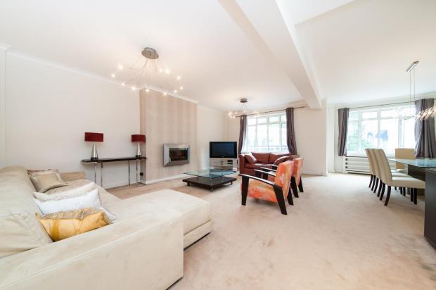 3 Bedrooms Flat for sale in Lancaster Terrace, London, W2
