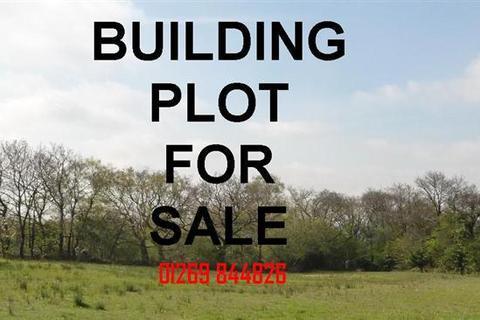 Plot for sale - Singleton Road, UPPER TUMBLE, Llanelli