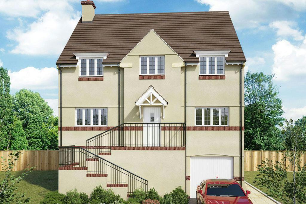 4 Bedrooms Detached House for sale in Garden View, Pontywaun, Newport