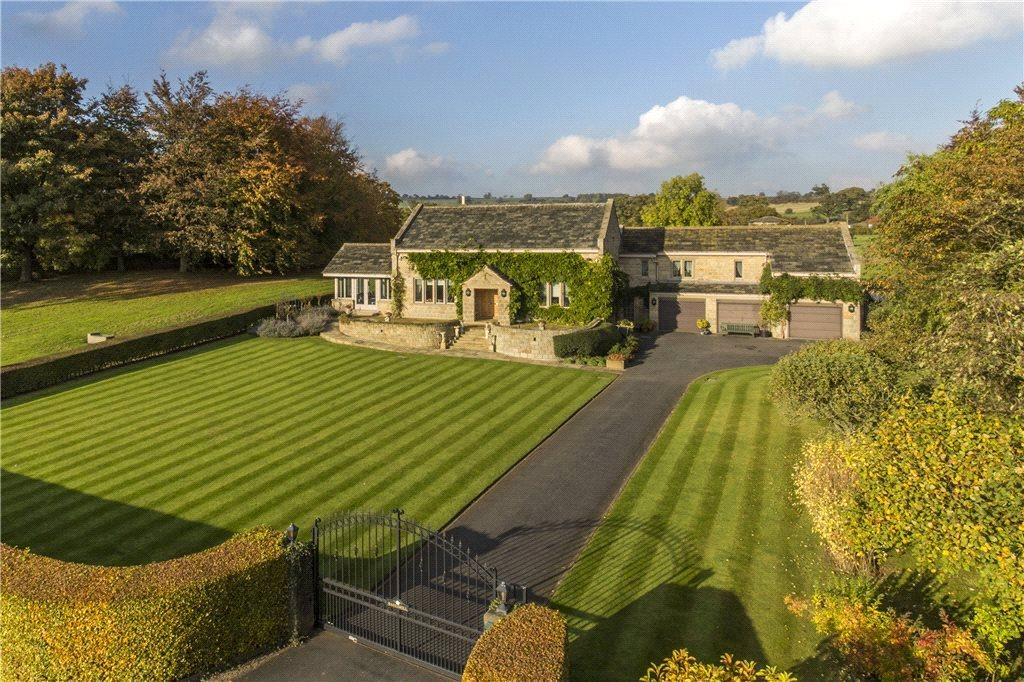 4 Bedrooms Detached House for sale in Barks Hill, Stainburn Lane, Leathley, Otley