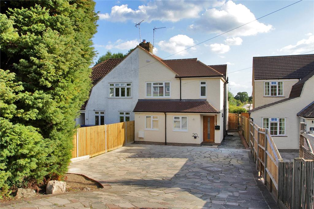 3 Bedrooms Semi Detached House for sale in Dynes Road, Kemsing, Sevenoaks, Kent