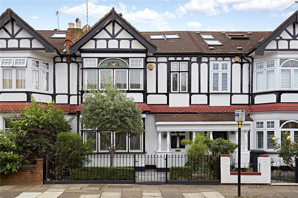 4 Bedrooms Terraced House for sale in Lancaster Gardens, London, W13
