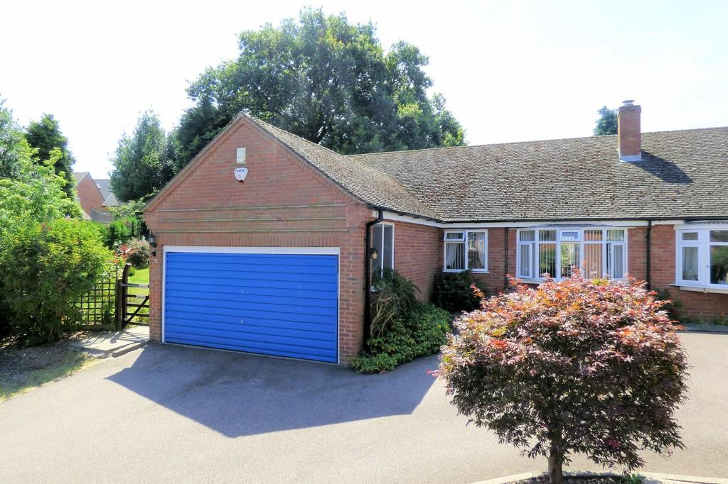 2 Bedrooms Semi Detached Bungalow for sale in High Street, Abbots Bromley