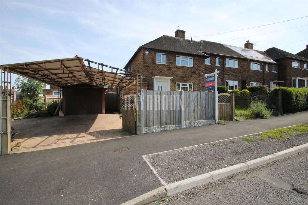 3 Bedrooms End Of Terrace House for sale in Spinkhill Road, Woodthorpe, S13