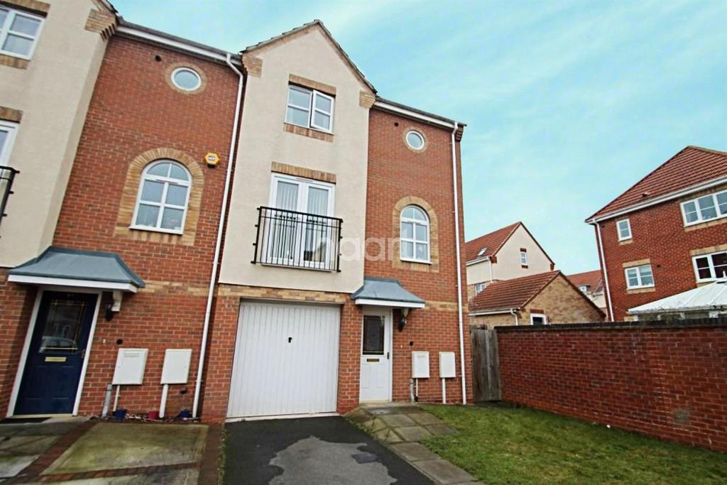 3 Bedrooms End Of Terrace House for sale in Pagett Close, Hucknall
