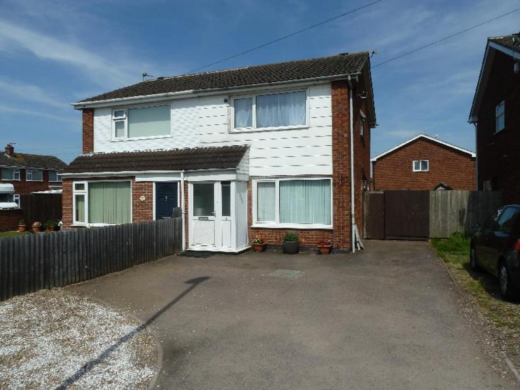 3 Bedrooms Semi Detached House for sale in Edendale Road Melton Mowbray