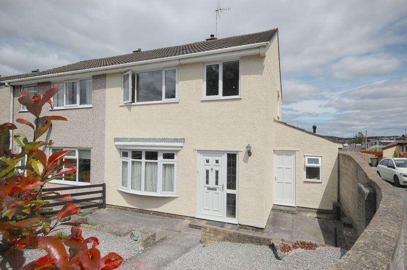 3 Bedrooms Semi Detached House for sale in 2 Llanharry Road, Brynsadler, Pontyclun, CF72 9DB