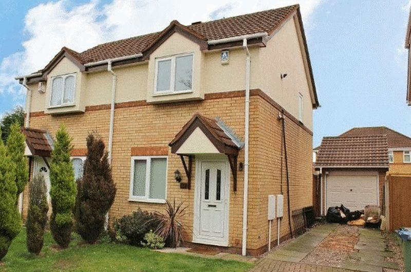 2 Bedrooms Semi Detached House for sale in Hellier Avenue, Tipton