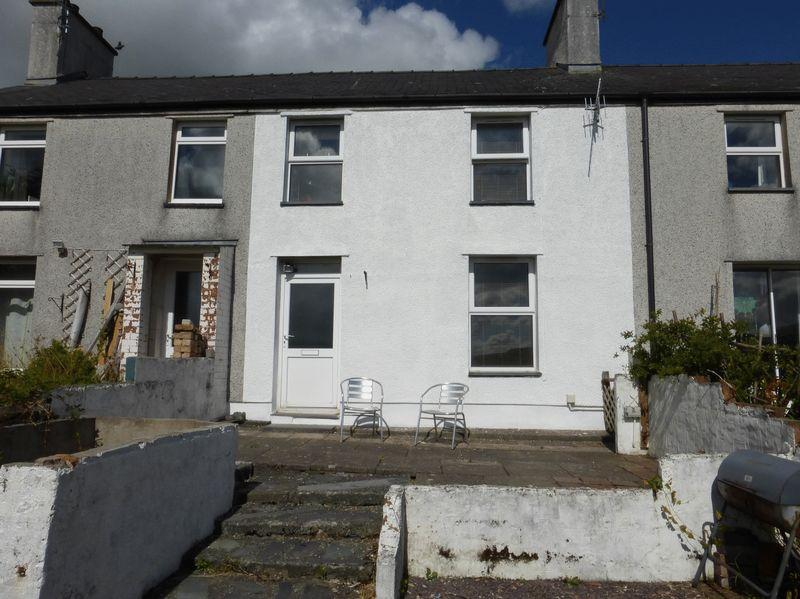 3 Bedrooms Terraced House for sale in Gerlan