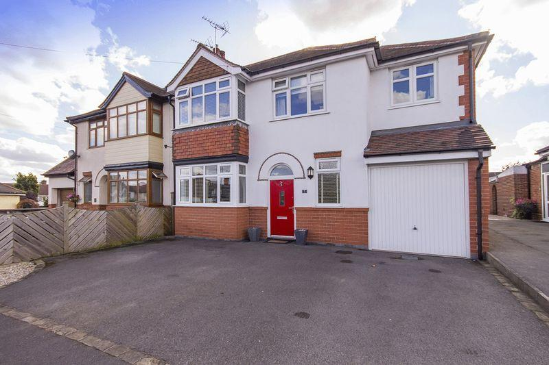 4 Bedrooms Semi Detached House for sale in CHATSWORTH CRESCENT, ALLESTREE