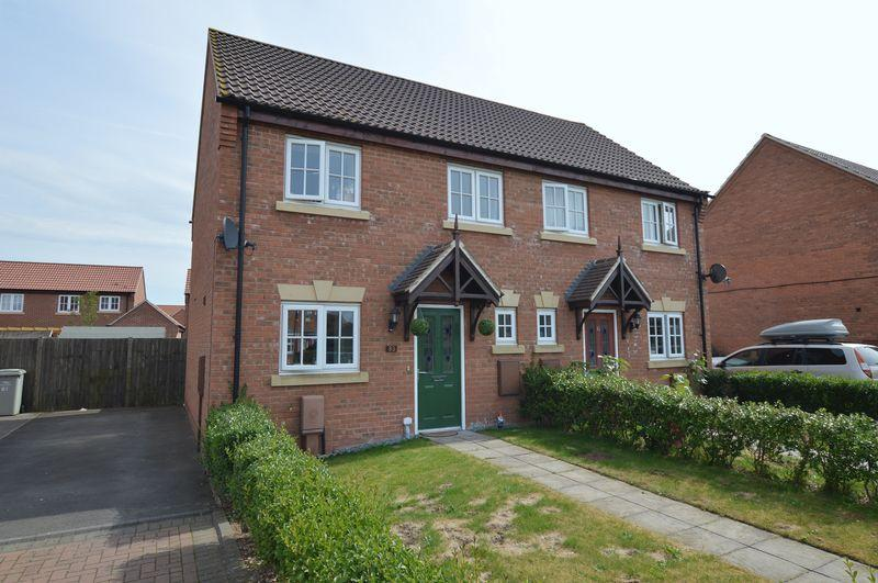 3 Bedrooms Semi Detached House for sale in 83 Kings Manor, Coningsby