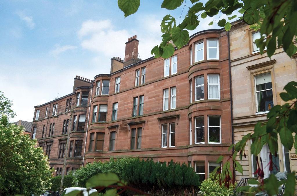 2 Bedrooms Flat for sale in Wilton Street, Flat 3/2, North Kelvinside, Glasgow, G20 6DQ