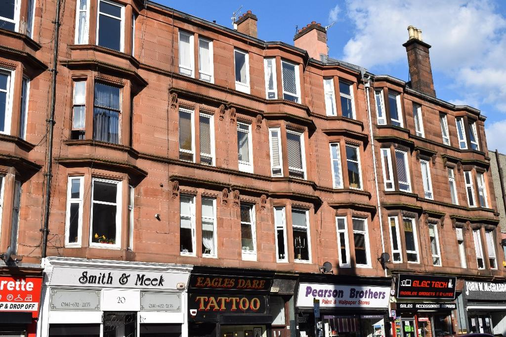 1 Bedroom Flat for sale in Minard Road, Flat 1/2, Shawlands, Glasgow, G41 2HN