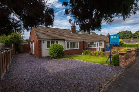 2 bedroom semi-detached bungalow to rent - Wilmslow Crescent, Thelwall