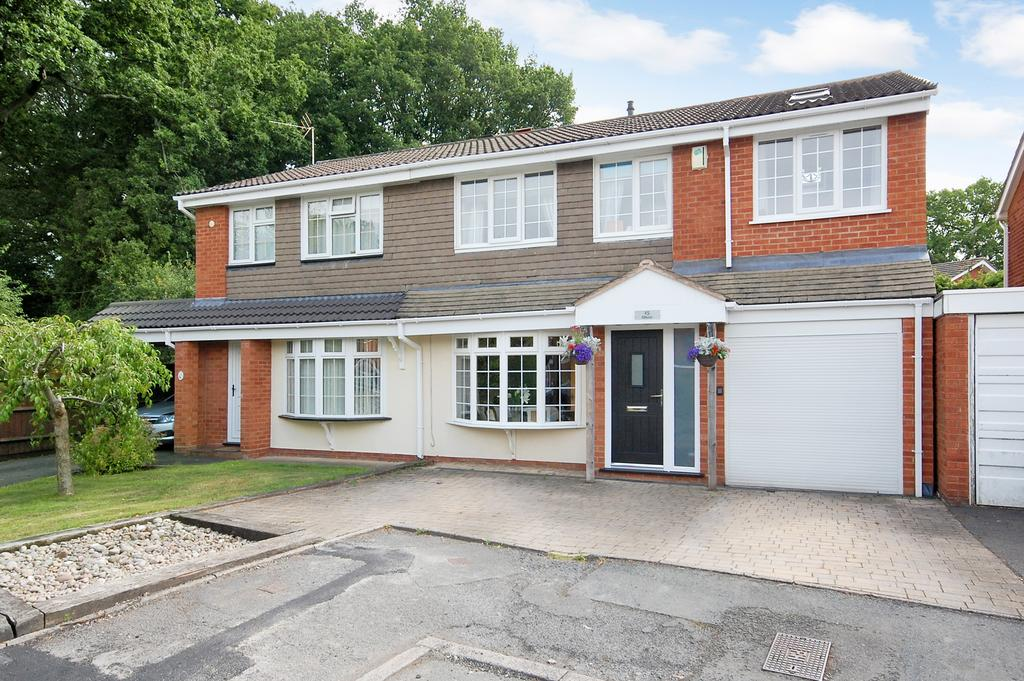 4 Bedrooms Semi Detached House for sale in Levington Close, Perton, Wolverhampton WV6