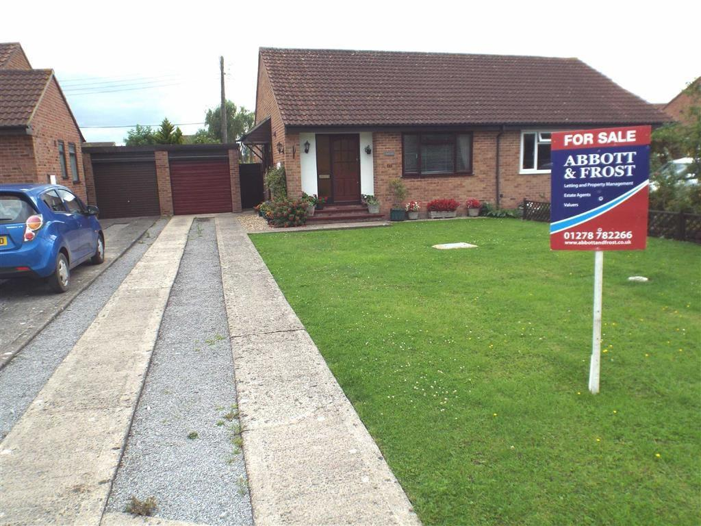 2 Bedrooms Semi Detached Bungalow for sale in Ashlea Park, East Huntspill