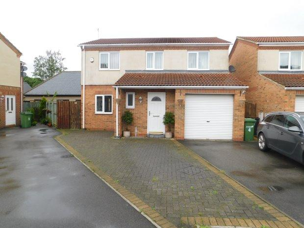 4 Bedrooms Detached House for sale in ROYAL GEORGE CLOSE, SHILDON, BISHOP AUCKLAND
