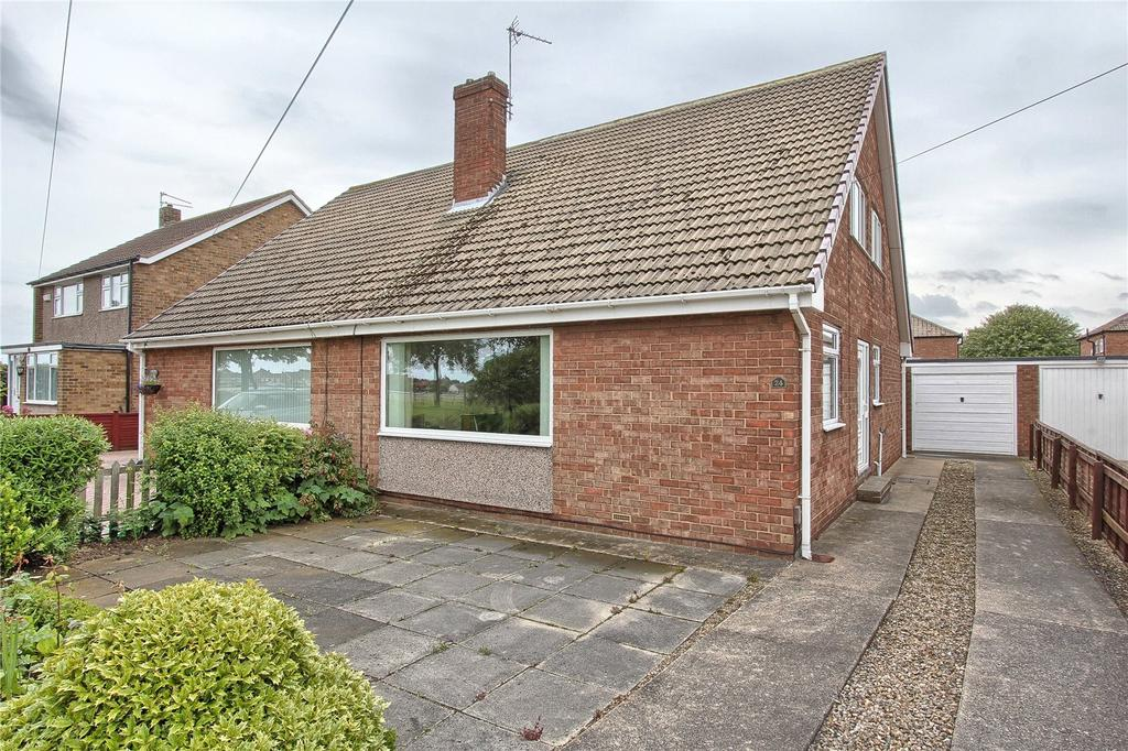 3 Bedrooms Semi Detached Bungalow for sale in Cartmel Road, Redcar